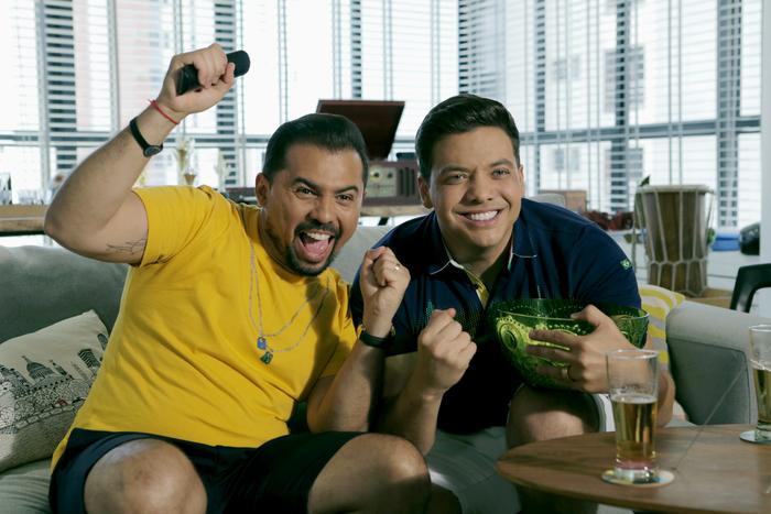 Faixa Eu e a torcida do Brasil foi lançada no YouTube e em todas as plataformas de streaming. Foto: Diego Moreira/Divulgação