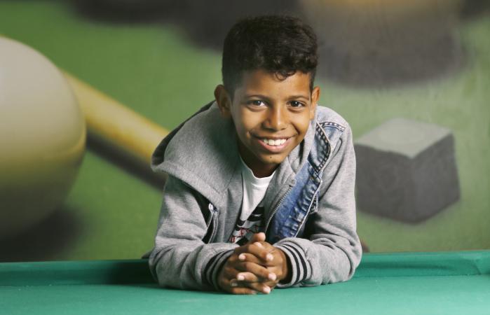 Recifense de 11 anos cresceu no bairro de Alto Santa Teresinha, na Zona Norte. Foto: Marlon Diego/DP