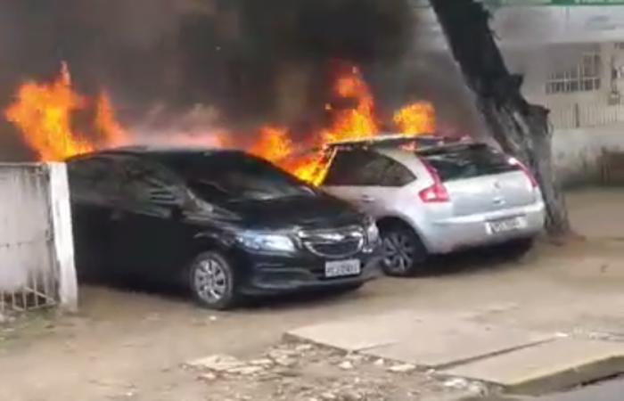 Motivo do incêndio ainda é desconhecido. Foto: Cortesia