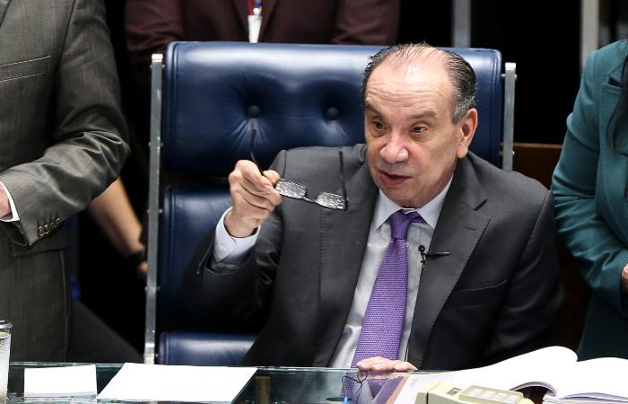 Aloysio  Nunes Ferreira ressaltou que a pressão internacional é insuficiente para solucionar a crise venezuelana. Foto: Marcelo Camargo/Arquivo/ Agência Brasil