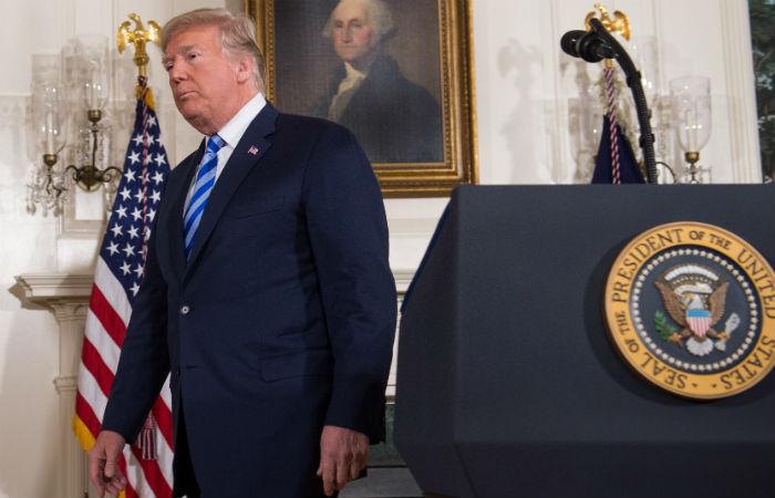 O fato de Trump evocar essa possibilidade provocou uma enxurrada de críticas, inclusive dentro de seu partido. Foto: Saul Loeb / AFP