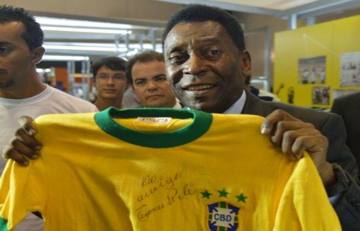 Pelé é o jogador mais novo a disputar uma decisão de copa, com 17 anos (Valter Campanato/Agência Brasil) ((Valter Campanato/Agência Brasil))