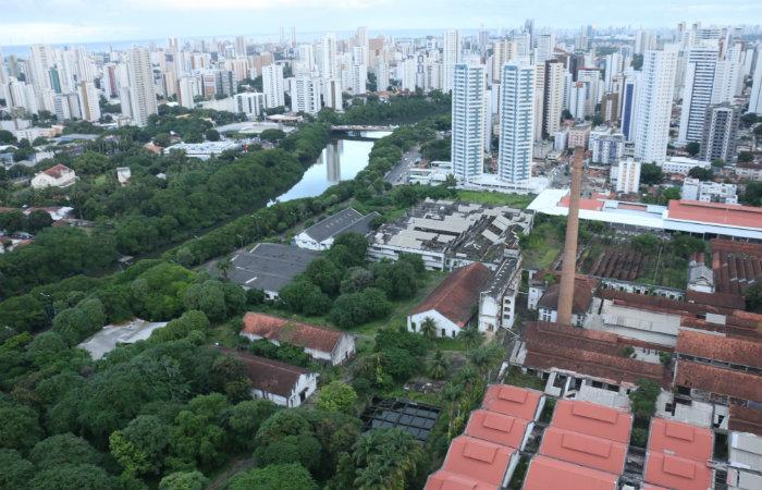 Fábrica e vila de funcionários foram o principal fator de ocupação da região. Foto: Gabriel Melo/Esp DP