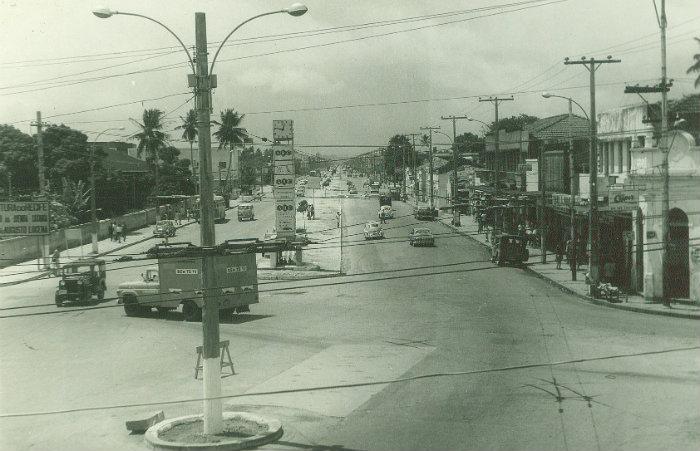 Na década de 1960, na gestão de Pelópidas, a Caxangá ganhou mais uma faixa. Foto: Arquivo/DP