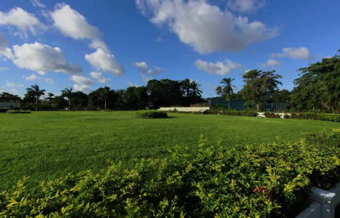 Com uma área de 64 hectares, o espaço oferece um contato maior com o verde. Foto: Thalyta Tavares/Esp DP