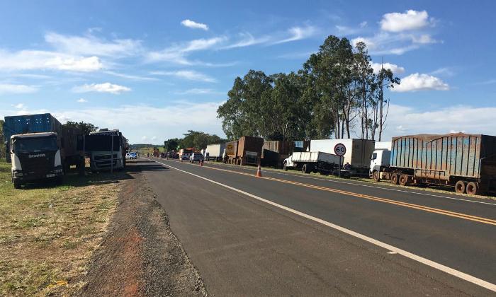 Frete mínimo foi decisivo para acabar com a paralisação de 11 dias dos caminhoneiros que provocou uma crise de abastecimento no País. Foto: PF/Divulgação