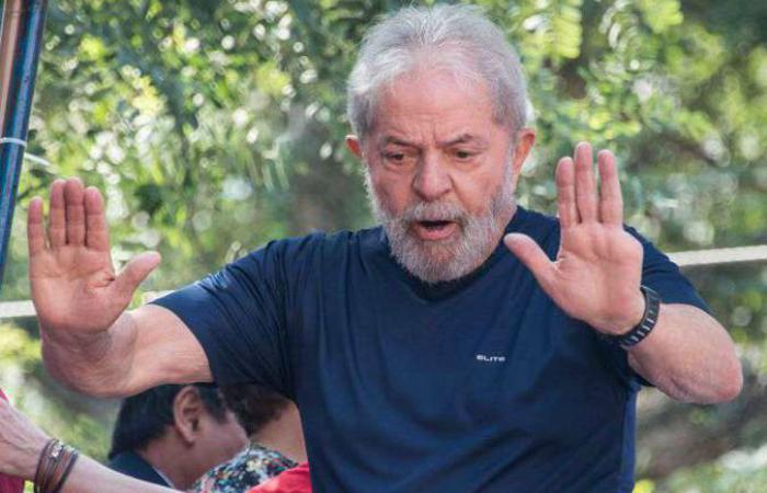 Lula está preso na Superintendência da Polícia Federal em Curitiba desde o dia 7 de abril. Foto: Nelson Almeida/AFP