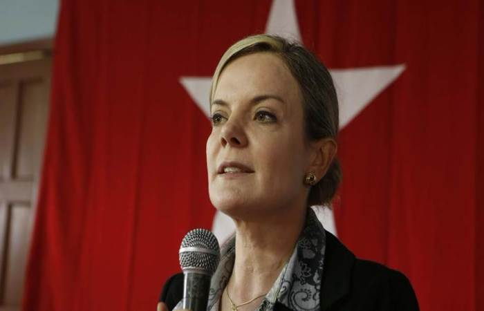 Presidente do PT e processada na Lava-Jato, a senadora Gleisi Hoffman deve disputar vaga na Câmara dos Deputados. Foto: Wilson Pedrosa/Fotos Públicas