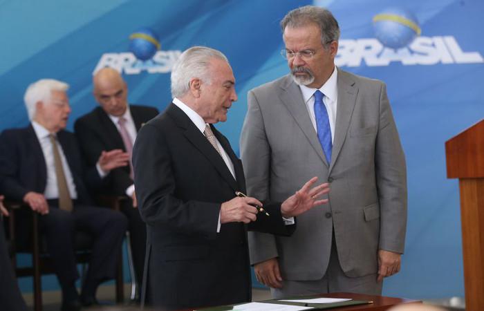 O ministro afirmou que o governo federal pela primeira vez dá um rumo no combate à violência no País. Foto:Antônio Cruz/Agência Brasil