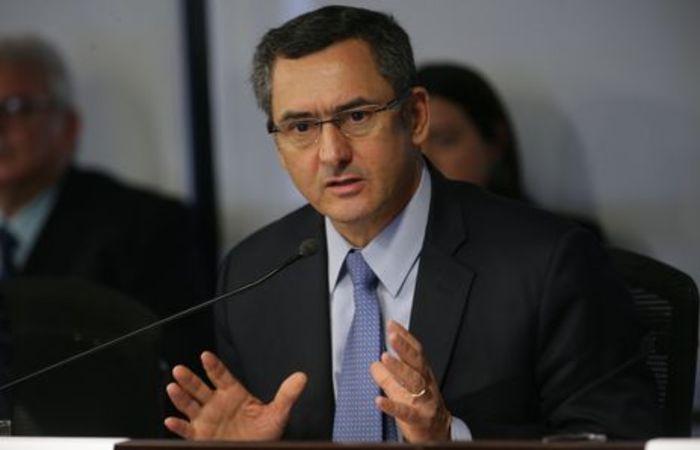 O ministro da Fazenda, Eduardo Guardia (Foto: Antonio Cruz/Agência Brasil)