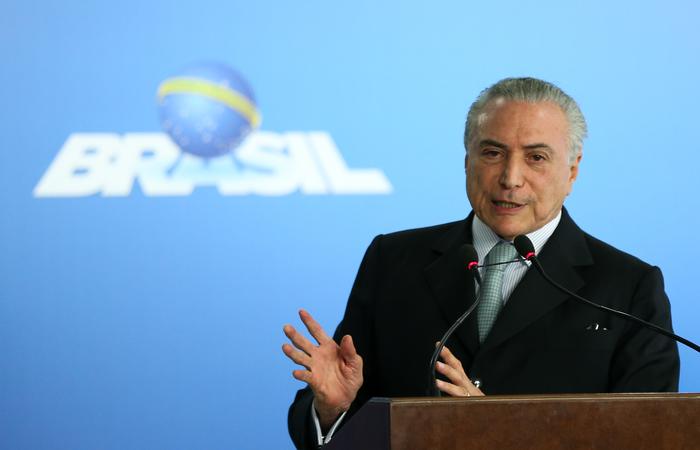 Presidente Michel Temer sancionou, com vetos, a Medida Provisória 810. Foto: Marcelo Camargo/Agência Brasil