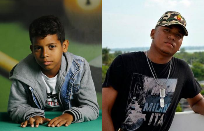 O colombiano Jota B é cantor do estúdio Pro-Q Records. Foto: Marlon Diego/ Esp. DP e Instagram/Reprodução