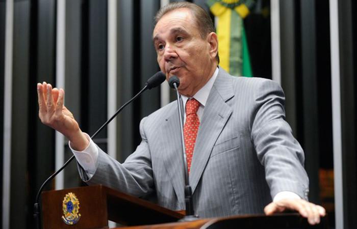 O senador Agripino já se tornou réu em outro processo no STF por corrupção passiva e lavagem de dinheiro. Moreira Mariz/Agência Brasil