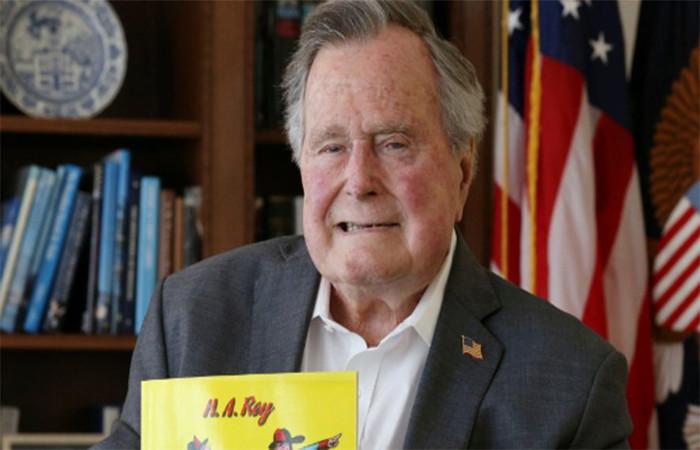 Ele é pai do ex-presidente George W. Bush e do ex-governador da Flórida, Jeb Bush. Foto: Twitter/Reprodução