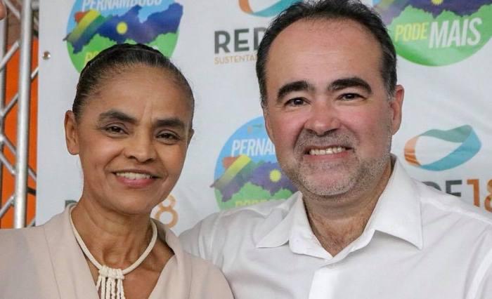 Ex-prefeito de Petrolina (D) é o candidato da Rede ao governo do estado. Foto divulgação/Facebook