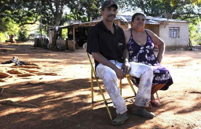Erismar e Claudinete estão na quinta geração da família no Quilombo Mesquita: 785 famílias residem na área. Foto: Ed Alves/CB/D.A Pres