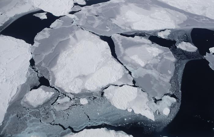 O derretimento é visível na Antártida Ocidental (Foto: Mario Tama/Getty Images/AFP)