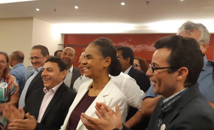 Segundo Marina, os projetos políticos partidários foram prejudicados pelo processo de reeleição, o qual ela promete acabar. Foto: Aline Moura/DP