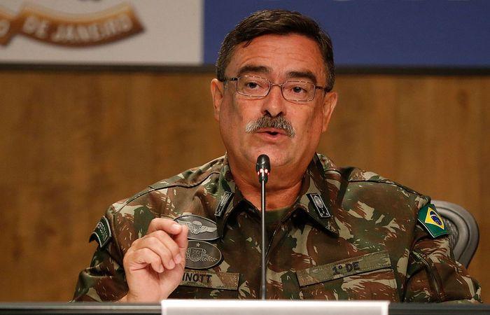 General Mauro Sinott deixou oficialmente no dia 6 de junho o cargo de secretário do Gabinete de Intervenção Federal. Foto: Tânia Rêgo/Agência Brasil