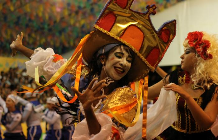 Junina Xamego de Menina, de Barreiros. Foto: Samuel Calado/Esp.DP