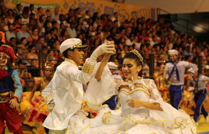 Noivos da Junina Xamego de Menina. Foto: Samuel Calado/Esp.DP