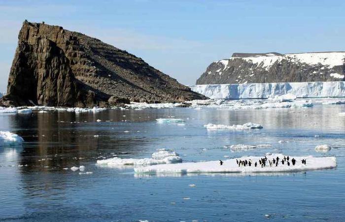 O continente tem 90% do gelo terrestre: a água congelada é suficiente para aumentar o nível do mar em 58 metros. Foto: Arquivo/AFP Photo