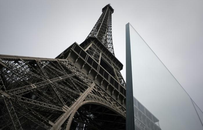 Estrutura de vidro é à prova de balas (Foto: AFP/Philippe Lopez)