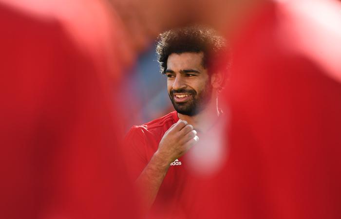 Astro do Egito, Mohamed Salah, será afastado na partida de estreia da seleção. Foto: ANNE-CHRISTINE POUJOULAT / AFP