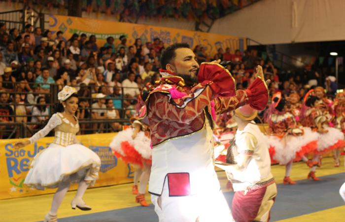 Alexandre Frank, marcador da Junina Coração. Foto: Samuel Calado/Esp.DP