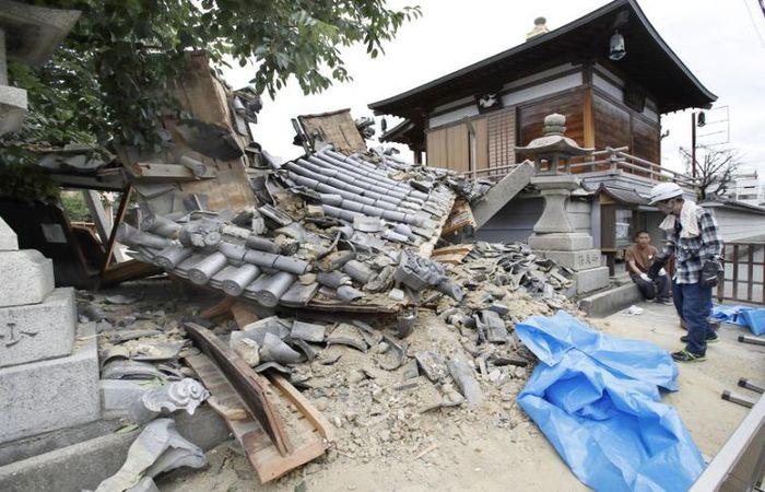 Terremoto no Japão causou danos e pelo menos três mortes. Foto: Reprodução/Agência Brasil