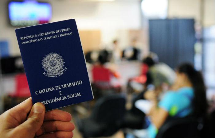 Os dados são divulgados mensalmente pelo ministério do Trabalho Foto: Pedro Ventura/Agência Brasília