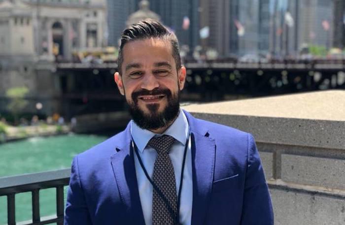 O Dr. Eriberto Marques Jr, oncologista da Multihemo, unidade do Grupo Oncoclínicas em Recife, esteve no encontro em Chicago. Foto: Divulgação