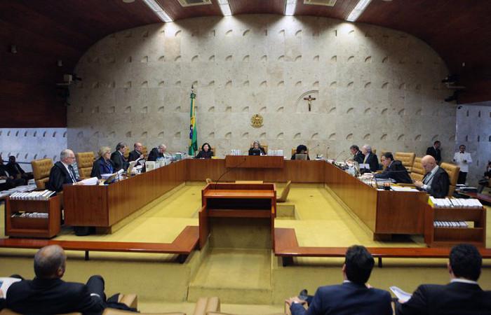 Plenário do STF julga validade de delações premiadas negociadas pela PF. Foto: Carlos Moura/SCO/STF