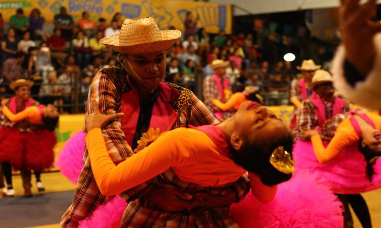 A Junina Quentão homenageou o Brega pernambucano. Foto: Samuel Calado/Esp.DP