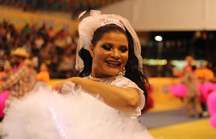 Noiva da Junina Quentão. Foto: Samuel Calado/Esp.DP