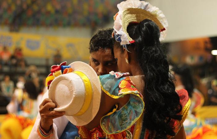 A Junina Bacamarte homenageou o Rei do Baião, Luiz Gonzaga. Foto: Samuel Calado/Esp.DP