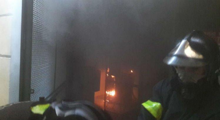 Prédio do Gabinete Português de Leitura pegou fogo nesta manhã. Foto: Divulgação/Corpo de Bombeiros. (Prédio do Gabinete Português de Leitura pegou fogo nesta manhã. Foto: Divulgação/Corpo de Bombeiros.)