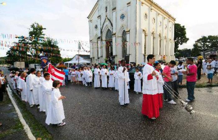 Igreja de São João, no Sancho, haverá celebração especial neste domingo. Foto: Arquivo/DP