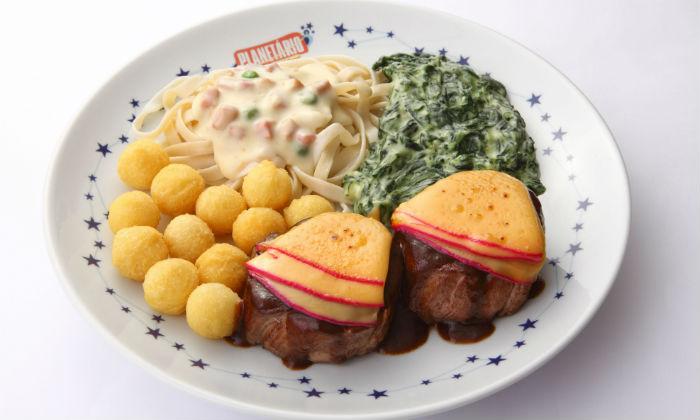 Prato filet com reino é o mais pedido entre as carnes do cardápio. Foto: Vinicios Lubambo/divulgação