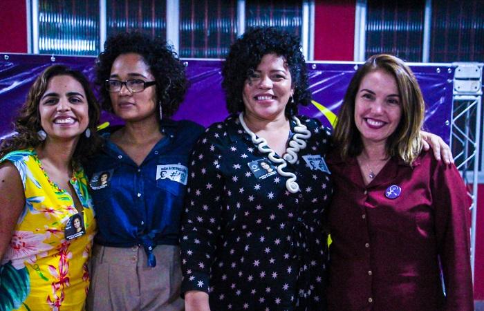 PSol e PCB formam primeira chapa feminina no estado. Foto: Fran Silva / Divulgação