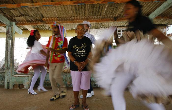 Quadrilha Rosa Linda terá primeira noiva negra em mais de 40 anos de existência. Foto: Marlon Diego / Esp. DP