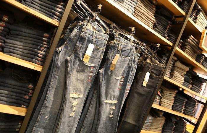 Europeus escolheram produtos emblemáticos, como o jeans americano, como resposta à política agressiva adotada por Donald Trump. Foto: AFP Photo
