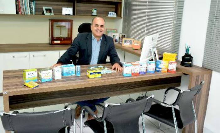 Dutra diz que empresa possui portfólio com 50 itens. Foto: Maria Isabel/Divulgacao ( Foto: Maria Isabel/Divulgacao)