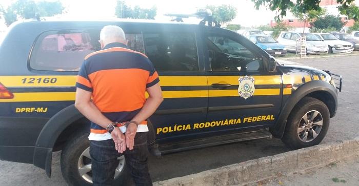 Homem preso pela PRF foi condenado por estupro contra menina de cinco anos em São Bernardo dos Campos-SP. Foto: Danilo Bezerra-PRF/Divulgação (Homem preso pela PRF foi condenado por estupro contra menina de cinco anos em São Bernardo dos Campos-SP. Foto: Danilo Bezerra-PRF/Divulgação)