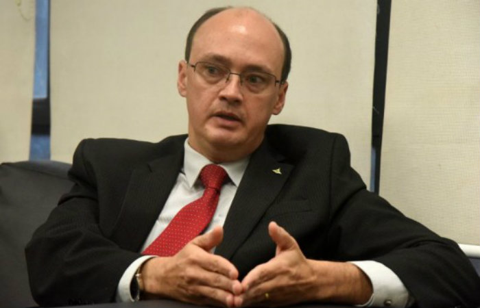 Ed Alves/CB/D.A. Press Entrevista com o secretário de segurança pública, Cristiano Barbosa Sampaio.