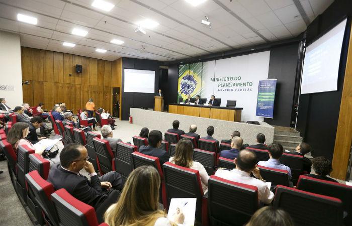 O Ministério do Planejamento, Desenvolvimento e Gestão, o Banco Interamericano de Desenvolvimento (BID) e a Agência Brasileira Gestora de Fundos Garantidores e Garantias (ABGF) realizam Workshop sobre a Gestão de Capital de Risco Foto: Marcelo Camargo / Agência Brasil