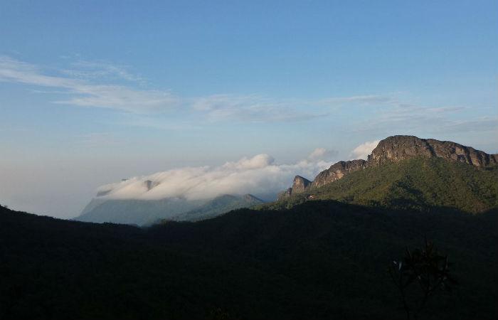 Pico da Neblina, na fronteira do Brasil com a Venezuela, foi um dos pontos de pesquisa da equipe Foto: MichelBlind / Creative Commons