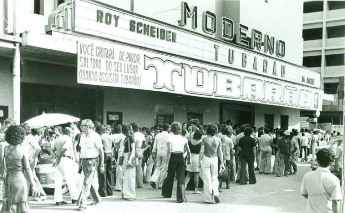 Fachada do cinema Moderno. Foto: Arquivo/DP/D.A Press