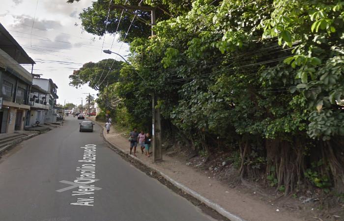 A via estará fechada no trecho entre a Rua do Campanário e a Rua Itagi, das 7h às 11h. Foto: Reprodução/Google Street View