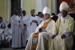 Dom Saburido, arcebispo de Olinda e Recife, apresentará para a comunidade Católica o novo bispo auxiliar, dom Limacêdo. Foto: Arquidiocese de Olinda e Recife/Divulgação